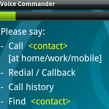 Android Voice Dialing with Confirmation